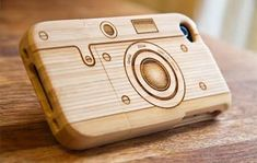 The Camera iPhone Case Protects Gadgets with a Vintage Feel trendhunter.com