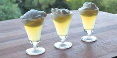 Lækre shots der smager af traditionel dansk æblekage med flødeskum og vanilje