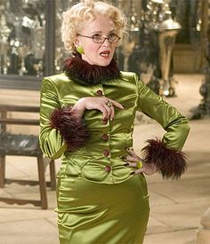 Miranda Richardson appeared as Rita Skeeter in the film adaptation of Goblet of Fire as well as a cameo in the Deathly Hallows.