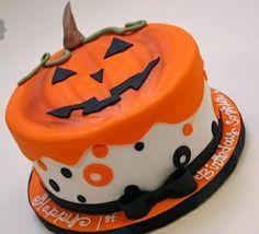 Pumpkin Birthday piece of cake photo by laimelady