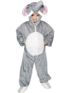 Kids Elephant Costume I bet your no Dumbo, so you wont need to be convinced of what an amazing Costume this is. Be the leader of the three ring Halloween circus this year in this fantastic Kids Elephant Costume. Onesie Costumes, Boy Costumes, Halloween Costumes, Elephant Costumes, Animal Costumes, Halloween Circus, Childrens Fancy Dress, Elephants Never Forget, Book Week Costume