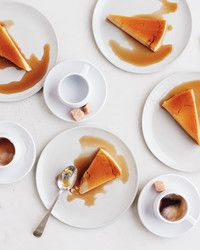 "Impress your friends and family by making this fabulous flan recipe courtesy of ""Martha Stewart's Cooking School."""