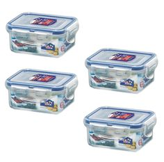 Lock and Lock, No BPA, Water Tight, Food Container, 0.7-cup, 6-oz, Pack of 4, HPL805 *** Special  product just for you. See it now! : home diy kitchen