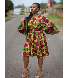 Yeah, it is another Ankara Fashion Weekend! In this season there are even more bright colors, quality fabrics, and unusual cuts! Years back, the best that could be achieved… Latest Ankara Short Gown, Ankara Short Gown Styles, Ankara Gowns, Short Gowns, Ankara Dress, Ankara Blouse, Ankara Fabric, Dress Styles, Maxi Dresses
