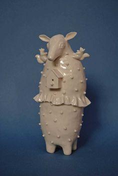 © Sohpie Woodrow, 'Little Deer'. Image via http://www.sophiewoodrow.co.uk/recent_work.html