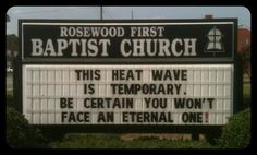 Christian Research Expert Has Fun with 'Church Sign of the Week'