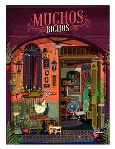 Muchos Bichos on Illustration Served