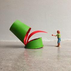 Cuppaday, reinvención diaria de un vaso de cartón | No me toques las Helvéticas | Blog sobre diseño gráfico y publicidad