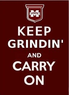 Grindin for my State. Love this. @Starkville Mississippi's College Town