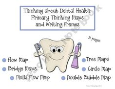 Thinking about Dental Health: Thinking Maps and Writing Frames