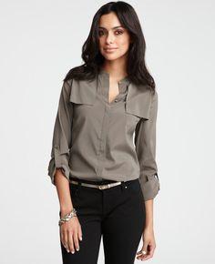 Ann Taylor silk shirt