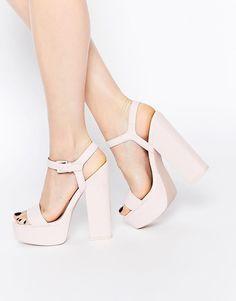ASOS | ASOS HIT THE JACKPOT Platform Heeled Sandals at ASOS