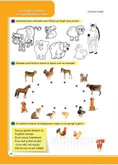 Comunicare in limba romana - Clasa Pregatitoare Worksheets For Kids, Acting, Kindergarten, Crafts For Kids, Snoopy, Teacher, Education, Comics, School