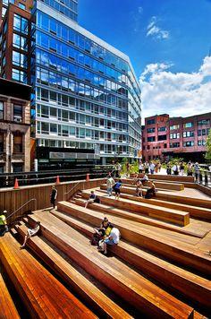 High Line - NYC, NY USA.