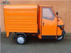 Piaggio Ape, 00 km Electric Mopeds, Electric Cars, Vespa Ape, Mini Vans, Kei Car, Piaggio Ape, Mini Trucks, Daihatsu, Orange Crush