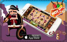 "Juega nuestra nueva máquina ""El Mariachi"" Descarga nuestra #App a tu #iPhone ya: https://itunes.apple.com/mx/app/casino-8-slots-espanol-tragamonedas/id768844462?mt=8"