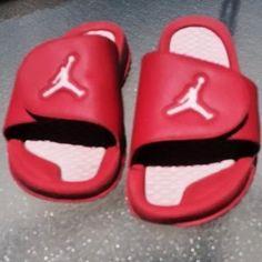 Nike Jordan hydro 5 kids 555511608 red/VIVID pink Last Pair Size 7Y #Nike #Sandals