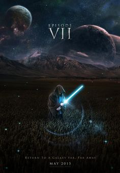 J.J. Abrams Not Committed to STAR WARS 2015 ReleaseDate - News - GeekTyrant    - This might be a mock up for art done, but not gonna lie. Even this poster makes me excited.