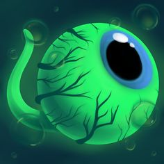 Septiceye Sam by breIoom on DeviantArt