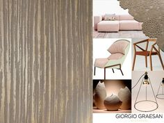 Istinto, fra le pitture della Giorgio Graesan & Friends in una versione Bamboo grigio avorio. Accompagnato da arredi in toni femminili di Moroso, Ligne Roset Italia e Artef Design.  #istinto from Giorgio Graesan & Friends International in a ivory/grey version of Bamboo style. Draw near feminine pieces of furniture from #Moroso, #LignetRoset and #Artefdesign.  #lepitture #giorgiograesan #walldecoration #stucco #natural