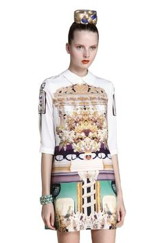 Sheinside Women White Wing Collar Half Sleeve Retro Print Shift Dress Shirtdress (M, White) Sheinside http://smile.amazon.com/dp/B00IU8KXBA/ref=cm_sw_r_pi_dp_Mx5Gub1R7WEDW