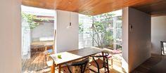 中庭へと開かれた快適住空間ここにしかない、かけがえのない贅沢な時間