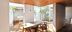 Comfortable living space opened to the courtyard space Here is an irreplaceable luxury time