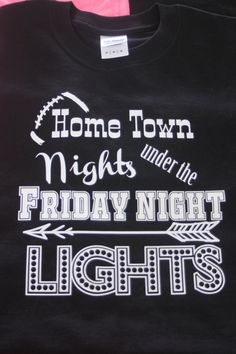 Friday Night Lights by FlamingoPinksApparel on Etsy