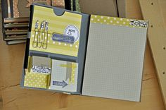 notes by Manu artecuore ♥ Mini Albums, Mini Scrapbook Albums, E Craft, Craft Fairs, Post It Note Holders, Christmas Craft Fair, 3d Paper Crafts, Craft Show Ideas, Mother's Day Diy