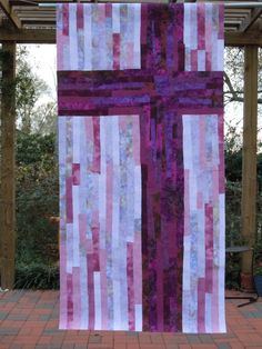 I've been making more banners for First United Methodist Church in Tell City, Indiana. The first set that I made in the fall were for ordinary time. These new ones are for Lent and Advent.…
