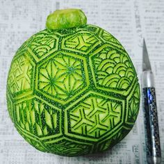 zucchini vegetablecarving
