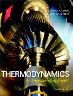 Thermodynamics: An Engineering Approach 8th Edition and Solutions Manual PDF Download here