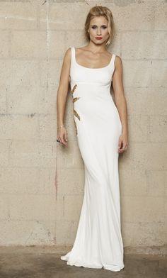 White Sheath/Column Long/Floor-length Graduation Backless Prom Dress PD32FC White Pageant Dresses, Backless Prom Dresses, Formal Dresses, Wedding Dresses, Prom 2016, Special Dresses, How To Wear, Color, Collection