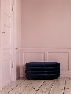 Pouf Oval - Dark Blue