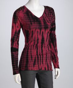 Magenta Tie-Dye Tee | Daily deals for moms, babies and kids