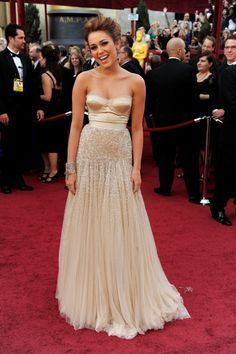 dress. honestly one of my favorite red carpet dresses