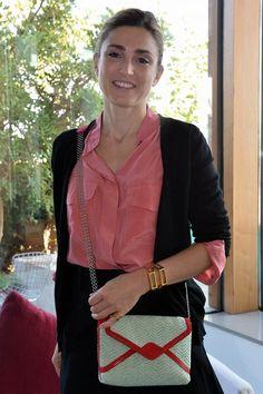 Actrice Julie Gayet For Alice Eddé