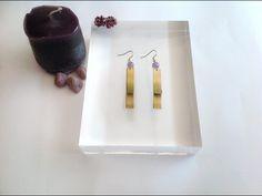 My Zizi Jewels- earrings brass#handmade in Italy