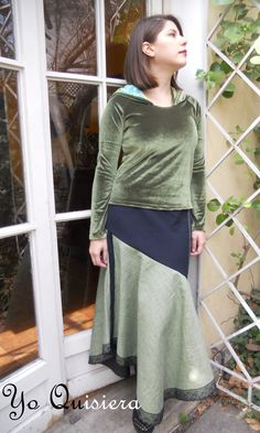 """Polera y Falda """"Yo Quisiera"""". www.facebook.com/yo.quisiera"""