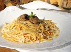 Sajtkrém házilag recept - Kifőztük, online gasztromagazin Spagetti, Ethnic Recipes, Food, Essen, Meals, Yemek, Eten