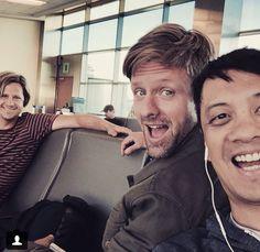 The guys on tour