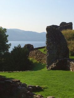 Urquhart Castle, view from inside