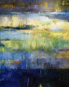 Marianne Sihm The Swamp 2,  48 x 60 inches,   oil on canvas