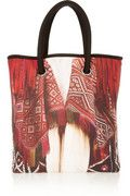 a wonderful tote with a mario testino image .......i think its stunning and clever ...this collection is for mate,,