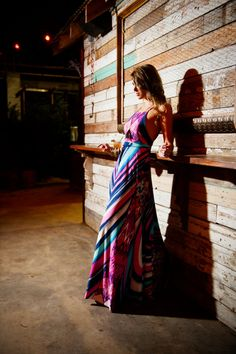 RESERVED RUSH for 974syd - Custom Summerset Swirl Spaghetti Strap Maxi Gown