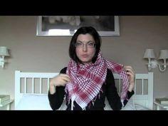 ▶ Cómo ponerse bufandas, pañuelos, fulares... - YouTube