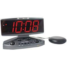 Sonic Alert Wake-up Call Alarm Clock With Super Shaker
