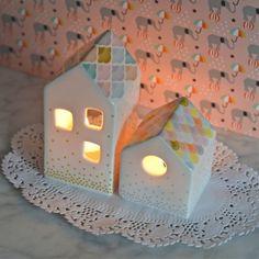 photophore Maison ronde Mini labo - deco-graphic.com