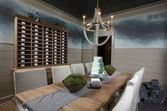wine storage dining room | Wine storage in the dining room.