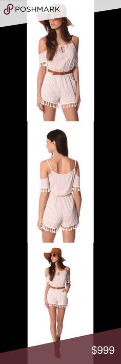 🎉COMING SOON🎉 Cold Shoulder White/Beige Romper Coming Soon 😉 Since Imperial Boutique has just been launched  and this item comes from European supplier quantities are extremely limited , but we promise to bring more trendy ,high quality goods available in  more sizes soon Other